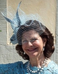 Queen Silvia,  June 8, 2014 in Philip Treacy | Royal Hats