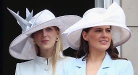 Lady Gabriella Windsor and Lady Frederick Windsor, June 14, 2014 | Royal Hats