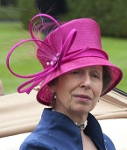 Princess Anne, June 19, 2014 in Snoxell Gwyther | Royal Hats