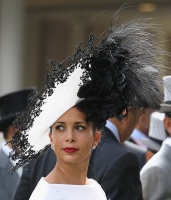 Princess Haya, June 19, 2014 in Philip Treacy | Royal Hats