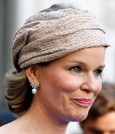 Queen Matilde, July 5, 2014 in Fabienne Delvigne | Royal Hats