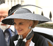 Princess Michael of Kent, September 11, 2014 in Philip Treacy | Royal Hats