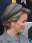Queen Mathilde, October 28, 2014 in Fabienne Delvigne | Royal Hats