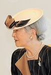 Empress Michiko, October 29, 2014 | Royal Hats