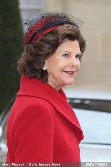 Queen Silvia, December 2, 2014   Royal Hats