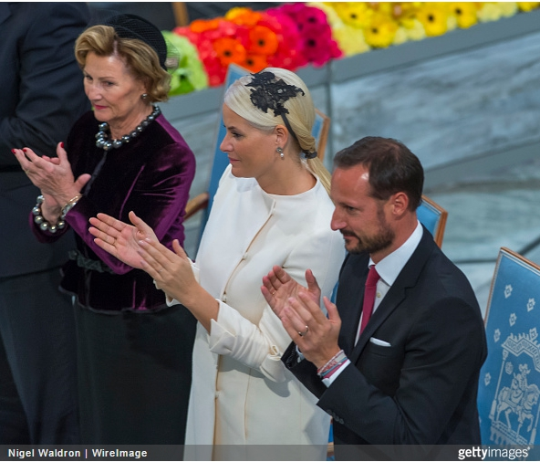 Queen Sonja and Crown Princess Mette Marit, December 10, 2014 | Royal Hats