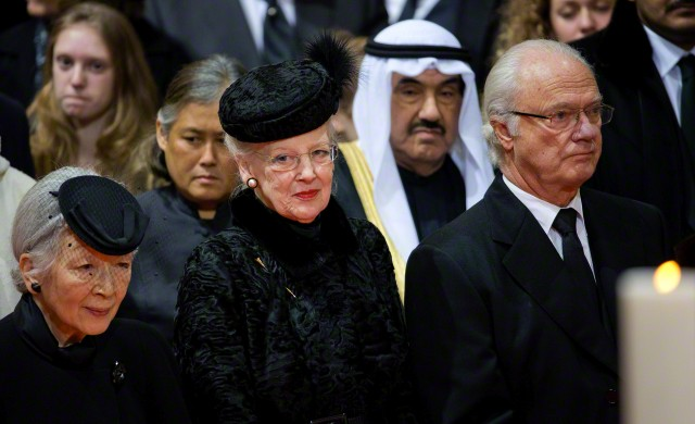 Empress Michiko and Queen Margrethe, December 12, 2014 | Royal Hats