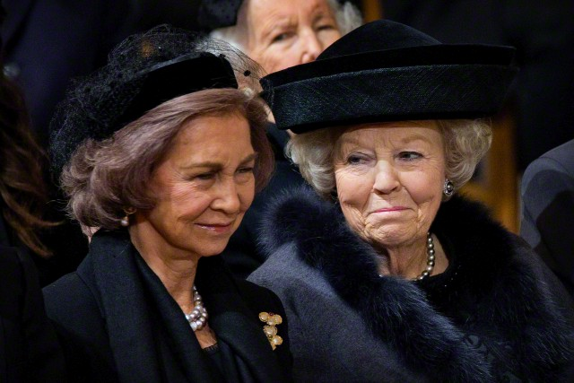 Queen Sofia and Princess Beatrix, December 12, 2014 | Royal Hats