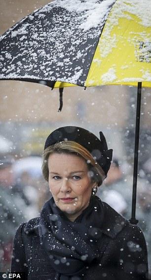 Queen Mathilde, December 13, 2014 | Royal Hats