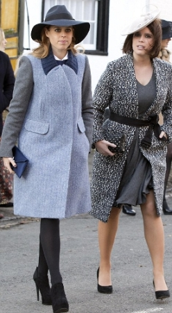 Princess Beatrice and Princess Eugenie, November 19, 2014 | Royal Hats