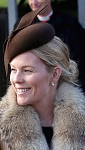 Autumn Phillips, December 25, 2014 in Juliette Botterill | Royal Hats