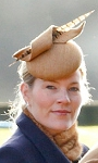 Autumn Phillips, December 28, 2014 in Juliette Botterill | Royal Hats