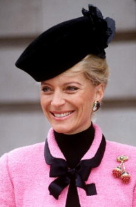Princess Michael of Kent, January 1992 | Royal Hats