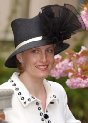 Countess of Wessex, April 20, 2003 in Philip Treacy | Royal Hats