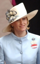 Countess of Wessex, June 18, 2003 in Philip Treacy | Royal Hats