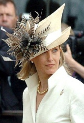 Countess of Wessex, July 10, 2005 in Philip Treacy | Royal Hats