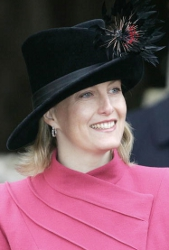 Countess of Wessex, December 25, 2005 in Philip Treacy | Royal Hats