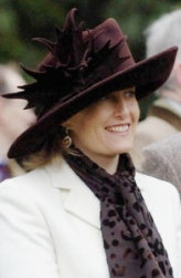 Countess of Wessex, January 1, 2006 in Philip Treacy | Royal Hats