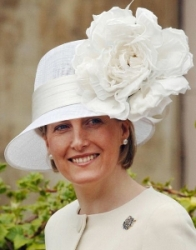 Countess of Wessex, April 16, 2006 in Philip Treacy | Royal Hats