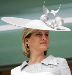 Countess of Wessex, June 19, 2007 in Philip Treacy | Royal Hats