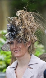 Countess of Wessex, April 12, 2008 in Philip Treacy | Royal Hats