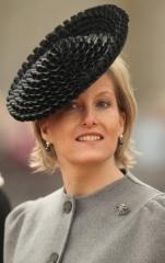 Countess of Wessex, February 24, 2009 in Rachel Trevor Morgan | Royal Hats