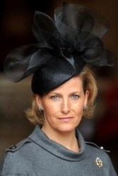 Countess of Wessex, October 9, 2009 in Philip Treacy | Royal Hats
