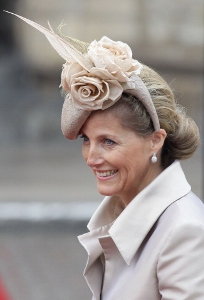 Countess of Wessex, April 29, 2011 in Jane Taylor | Royal Hats