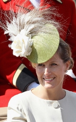 Countess of Wessex, June 13, 2011 in Philip Treacy | Royal Hats