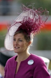 Countess of Wessex, June 14, 2011 in Philip Treacy | Royal Hats