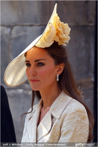 Duchess of Cambridge, July 31, 2011 in Gina Foster | Royal Hats