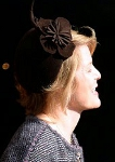 Viscountess Linley, March 13, 2014 in Lock & Co | The Royal Hats Blog