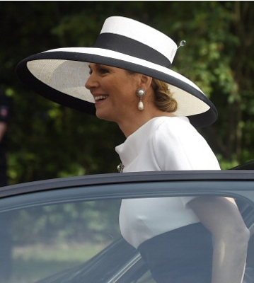 Queen Máxima, May 26, 2014 in Fabienne Delvigne | Royal Hats