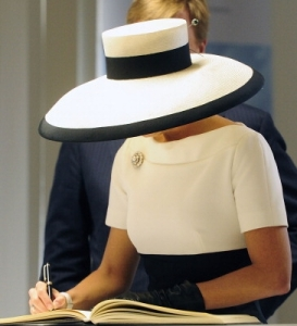 Queen Máxima, May 26, 2014 in Fabienne Delvigne |Royal Hats