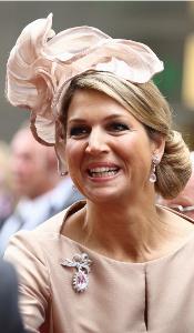 Queen Máxima, May 27, 2014 in Fabienne Delvigne