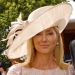 Princess Marie-Chantal, June 7, 2014 in Philip Treacy |Royal Hats