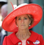 Baroness Brabourne, June 18, 2014 in Dillon Wallwork | Royal Hats
