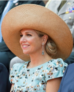 Queen Máxima, August 30, 2014 in Fabienne Delvigne | Royal Hats