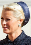 Crown Princess Mette-Marit, September 2, 2014 in Mona Strand | Royal Hats
