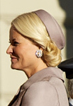 Crown Princess Mette Marit, October 13, 2014 | Royal Hats