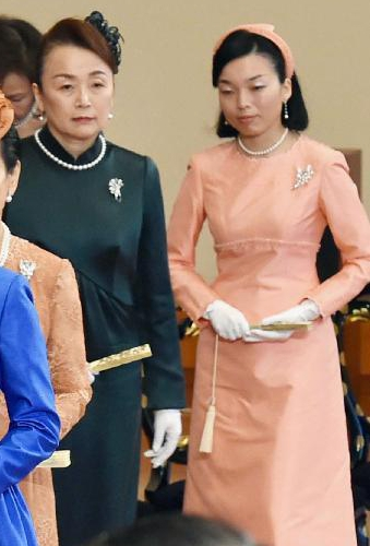 Princess Nobuko and Princess Akiko of Mikasa, January 9, 2015 | Royal Hats