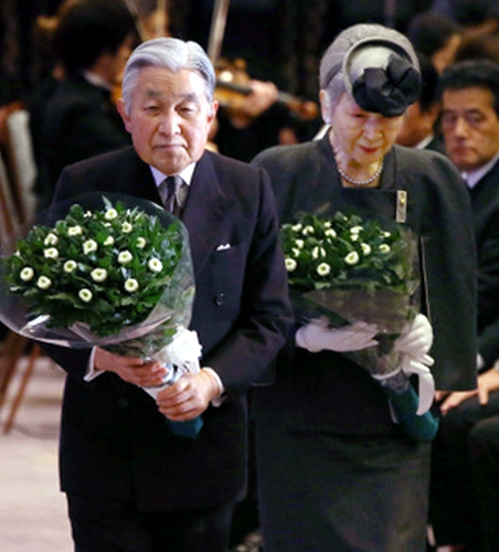 Empress Michiko, January 17, 2015 | Royal Hats