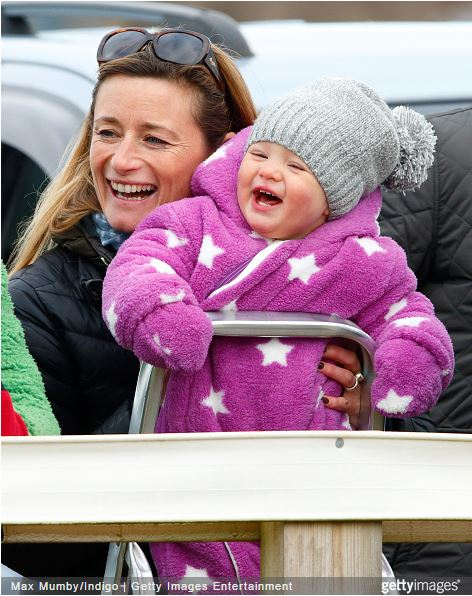 Mia Tindall, January 25, 2015 | Royal Hats