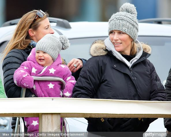 Zara Phillips Tindall and Mia Tindall, January 25, 2015 | Royal Hats