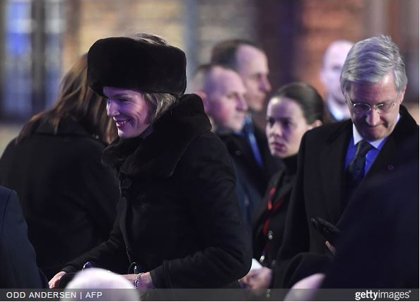 Queen Mathilde, January 27, 2015 | Royal Hats