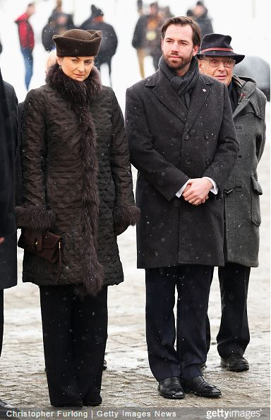 Hereditary Grand Duchess Stèphanie, January 26, 2015 | Royal Hats