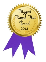 Biggest royal hat trend 2014