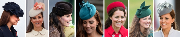 Duchess of Cambridge in 2014 | Royal Hats