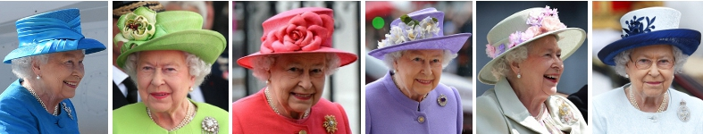 Queen Elizabeth in 2014 | Royal Hats