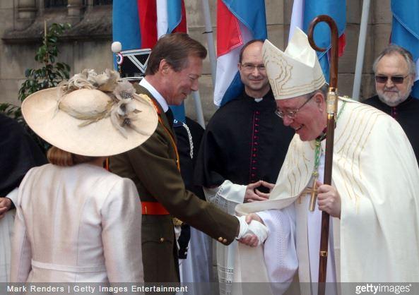 Grand Duchess Maria Teresa, June 23, 2012 in Jane Taylor | Royal Hats